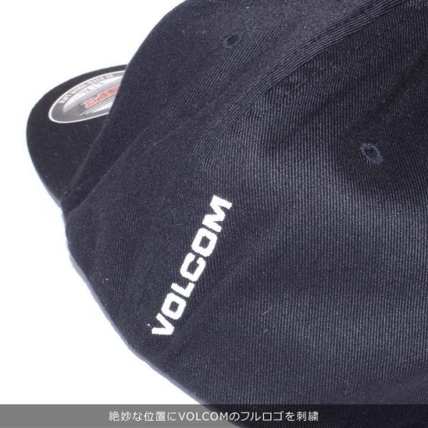 VOLCOM ボルコム キャップ メンズ FULL STONE XFIT HAT D5511105 2019春夏|3direct|13