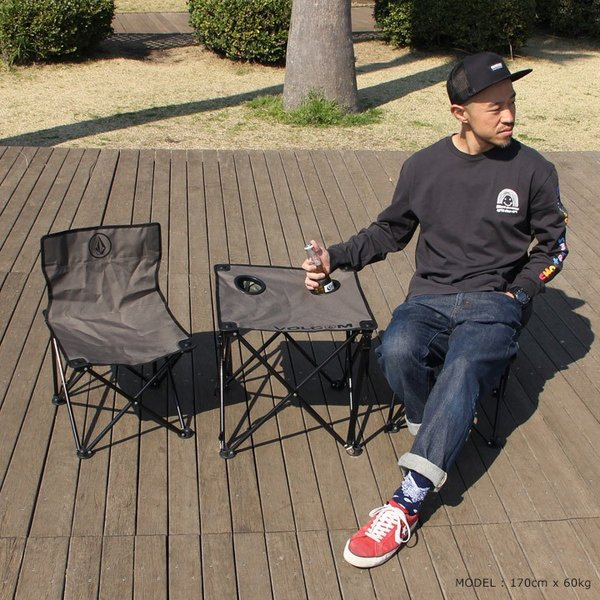 VOLCOM ボルコム ビーチチェア CIRCLE STONE BEACH CHAIR SET D67119JA 2019春夏|3direct|07