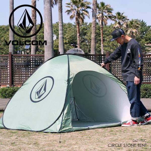 VOLCOM ボルコム テント CIRCLE STONE TENT D67119JC 2019春夏|3direct