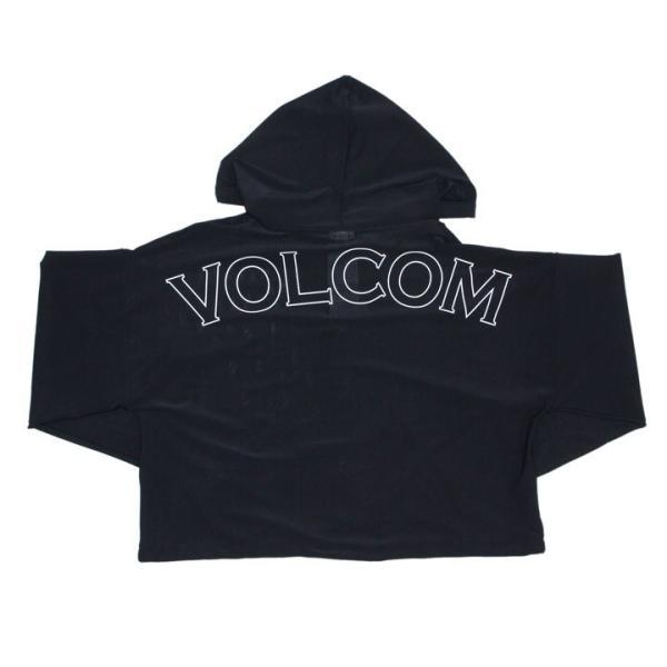 VOLCOM ボルコム ラッシュパーカー レディース VOL ACTIVE MESH HOOD PONCHO O63119JB 2019春夏|3direct|03