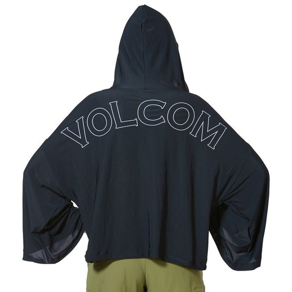 VOLCOM ボルコム ラッシュパーカー レディース VOL ACTIVE MESH HOOD PONCHO O63119JB 2019春夏|3direct|05