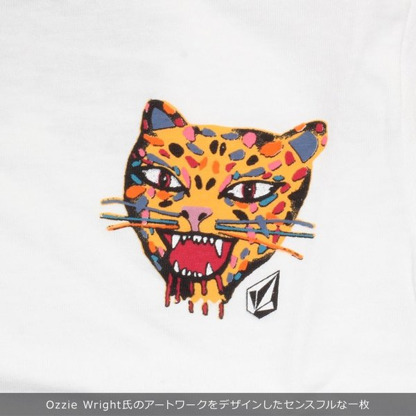 VOLCOM ボルコム Tシャツ キッズ OZZIE TIGER S/S TEE YOUTH LY Y3511911|3direct|04