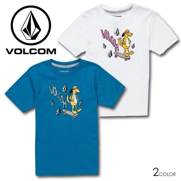 VOLCOM ボルコム Tシャツ キッズ VOLCOM DOG S/S TEE YOUTH LY Y3511931|3direct