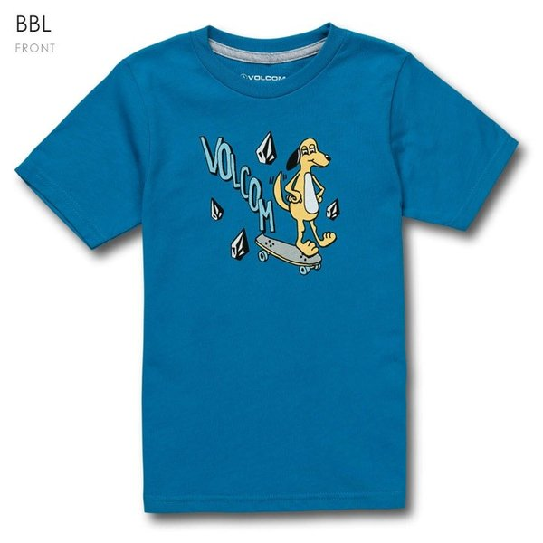 VOLCOM ボルコム Tシャツ キッズ VOLCOM DOG S/S TEE YOUTH LY Y3511931|3direct|02