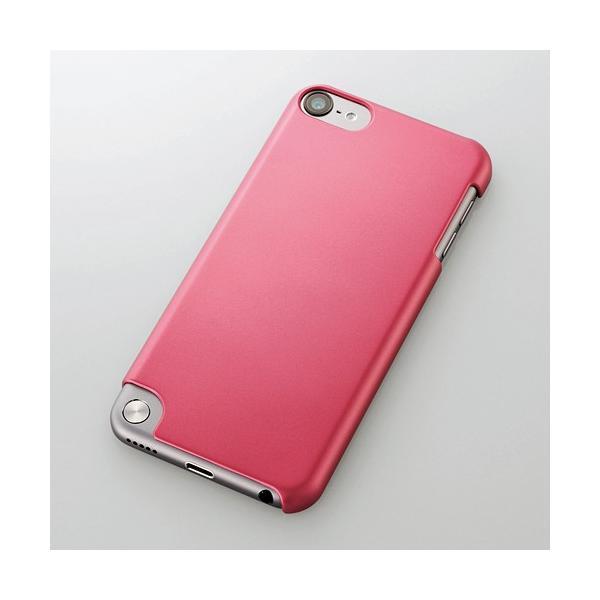 エレコム ELECOM iPod touch 2012 2013 2015シェルカバー ハードコート ピンク AVA-T13PVPN