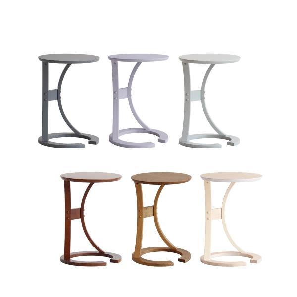 サイドテーブルロータスILT-2987sidetableLOTUSサイド机北欧風シンプル木製テーブルナイトテーブルおしゃれ木製円