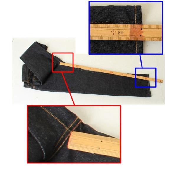 持ち込みOK裾上げ シングル仕立て(ストレートステッチ) すそあげのみ 3love 02