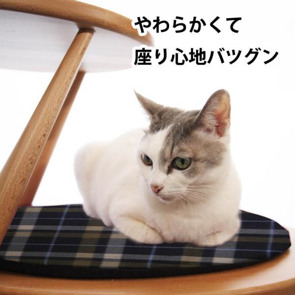 【猫用家具 egg用フリースクッション】 おしゃれ ペット用品 猫 ベッド  洗える クッション 北欧デザイン|3queue|04