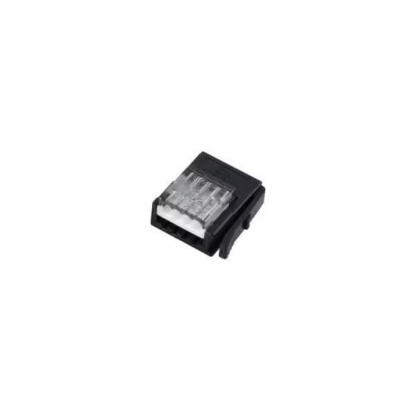 【スリーエムジャパン】37104-2206-000FL 10個入り/ワイヤーマウントプラグ/4極/カバー色:灰/適合電線:AWG No.20-22/仕上り外径:1.6mm-2.0mm