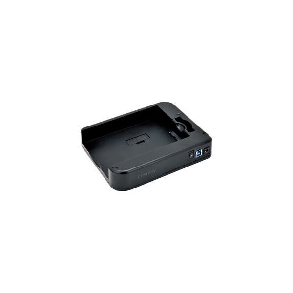 センチュリー CSDRU3B6G [スライディング裸族SATA6G]2.5インチ&3.5インチSATA HDD用スライドケース(USB3.0&SATA6G)