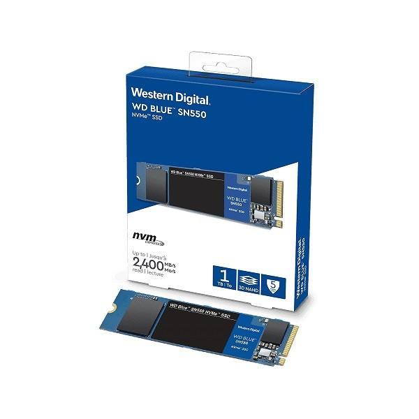WesternDigital WDS100T2B0C WesternDigital製 WD BLUE SN550シリーズ NVMe M.2 SSD 1TB【少量在庫あり!】