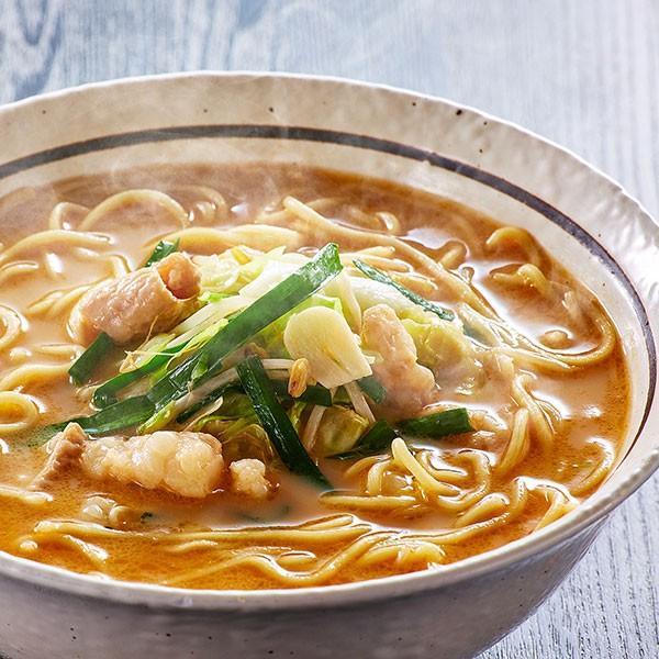 もつ鍋風ラーメン定番豚骨味(1人前) 海賊ラーメン部定番のもつ鍋風ラーメン。豚骨スープとチャンポン麺が絶品です。|400804|03