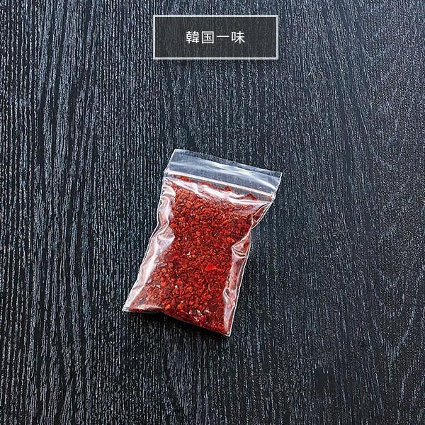 韓国一味 もつ鍋やラーメンのアクセントに最適な韓国一味。お好みで辛さの調節が出来るのが◎|400804