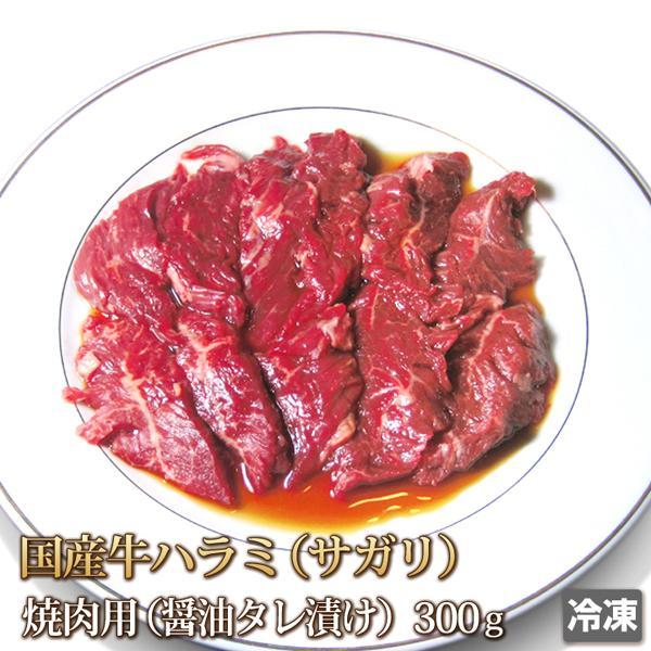 たれ漬け国産牛ハラミ(サガリ)300g [ギフト][お歳暮ご贈答][ご贈答][セルフ父の日]