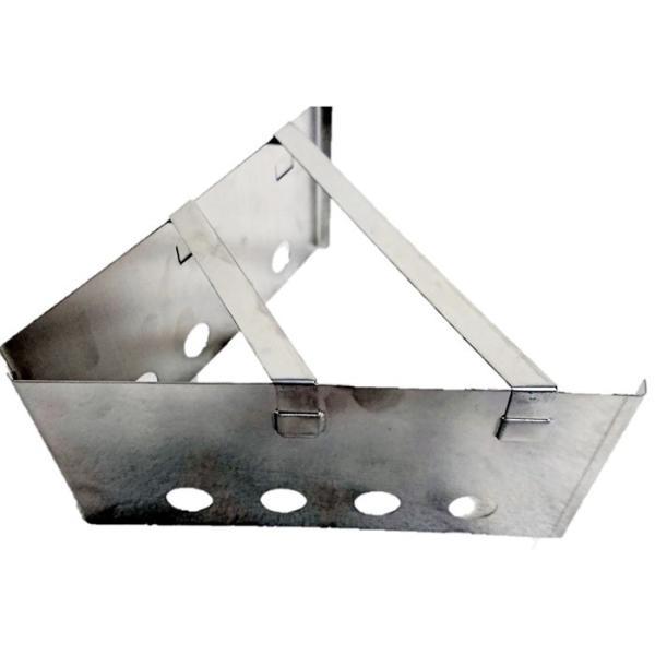 組み立て式 三角 風防 ゴトク トライアングル ネイチャー ストーブ コンパクト BBQ コンロ キャンプ 49shop
