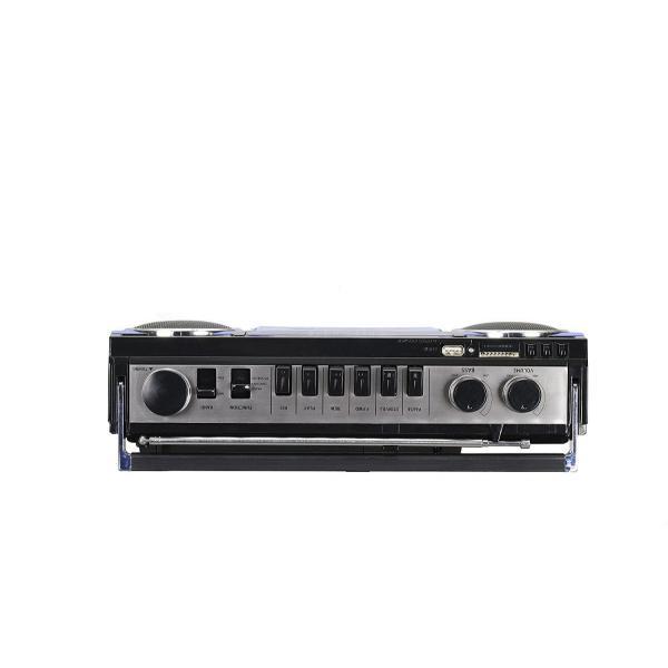 アナログ デジタル ステレオ ラジカセ SANSUI SCR-B2  Bluetooth MP3 スピーカー 80年代 レトロデザイン|49shop|13
