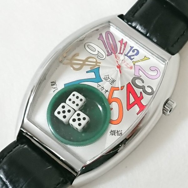 メンズ 腕時計 フランク三浦 五号機(新) ハイパーマカオ FM05K-CRW