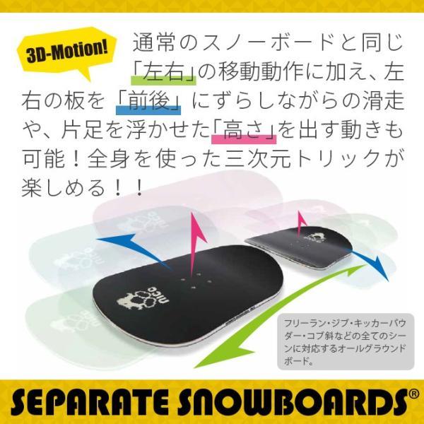 '19 セパレートスノーボード nico(二コ) コンパクトスペシャルエディション|4all|02