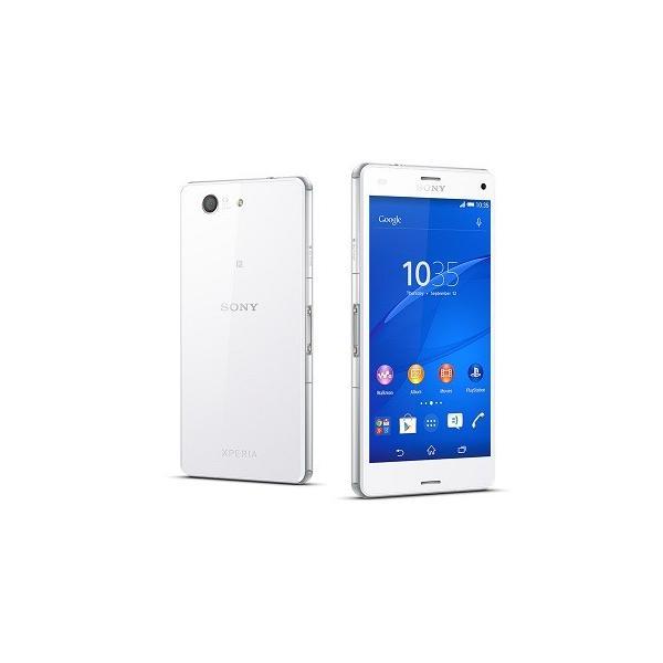 Sony Xperia Z3 Compact SIMフリー 並行輸入品 (Whiteホワイト) 16GB 4season-net