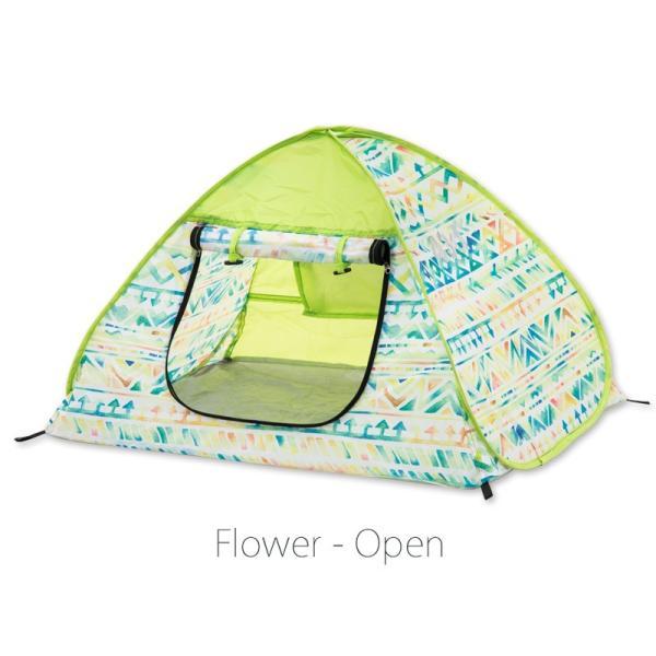 43DEGREES ペット用 テント ワンタッチ サンシェード  ポップアップテント  マット 日よけ 散歩 ケージ|4ss|12