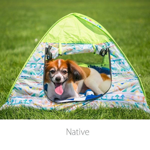 43DEGREES ペット用 テント ワンタッチ サンシェード  ポップアップテント  マット 日よけ 散歩 ケージ|4ss|04