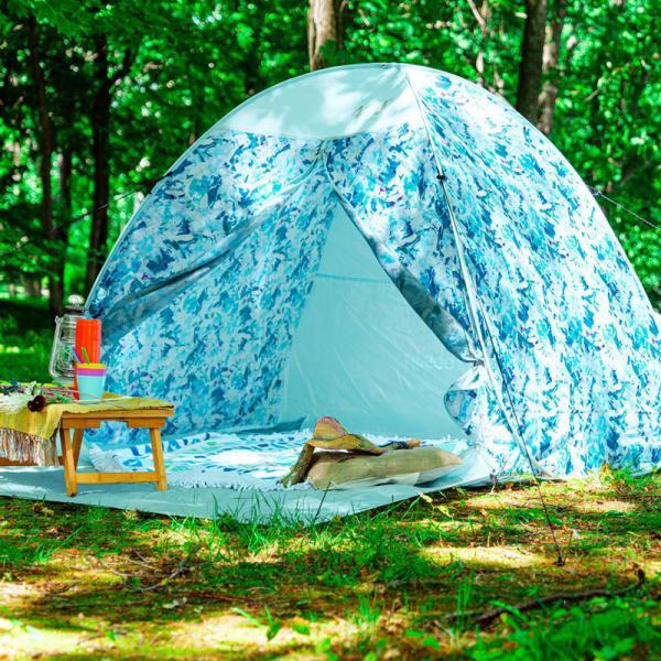 テント 2人用 ワンタッチテント 簡易テント おしゃれ 軽量 UVカット ポップアップ イベント アウトドア サンシェード 海 運動会 ピクニック 一人用|4ss|13