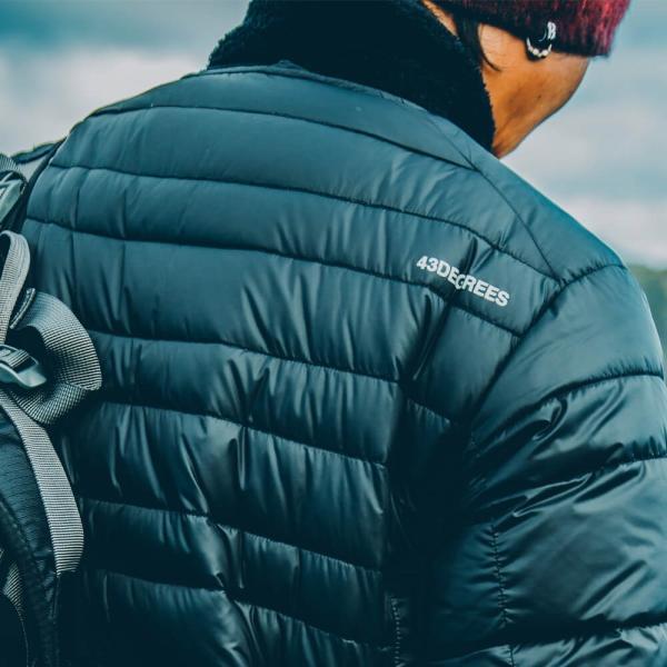 43DEGREES インナーダウンジャケット インナー ダウン ダウンジャケット 軽量 メンズ レディース|4ss|03