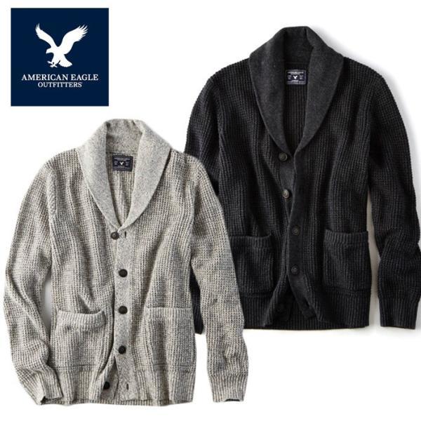 アメリカンイーグル メンズ ニット カーディガン セーター american
