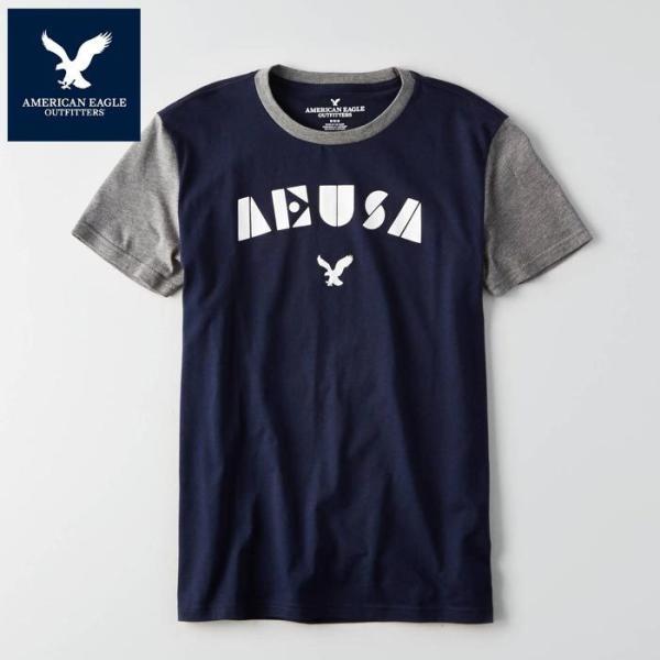 アメリカンイーグル 半袖 Tシャツ USAモデル メンズ AE American Eagle 正規品 ae2004|5445