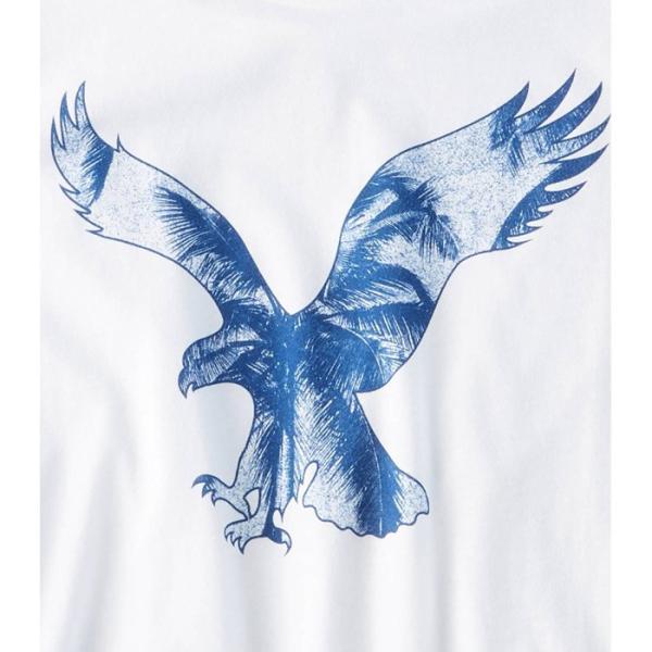 アメリカンイーグル 半袖 Tシャツ USAモデル メンズ AE American Eagle 正規品 ae2007 ホワイト|5445|02