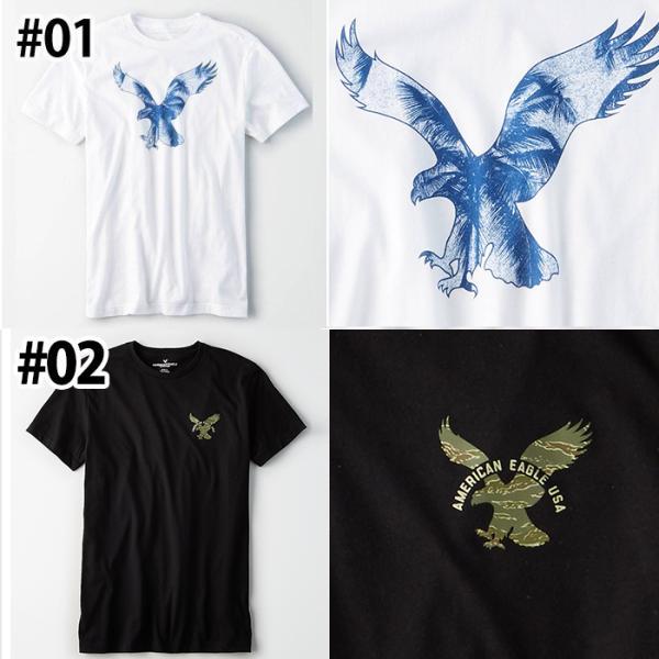 アメリカンイーグル 半袖 Tシャツ USAモデル メンズ AE American Eagle  ae77 送料無料|5445|02