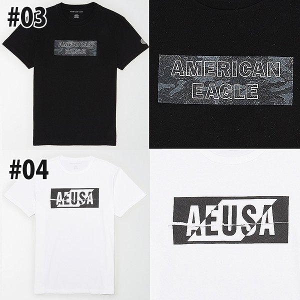 アメリカンイーグル 半袖 Tシャツ USAモデル メンズ AE American Eagle  ae77 送料無料|5445|03