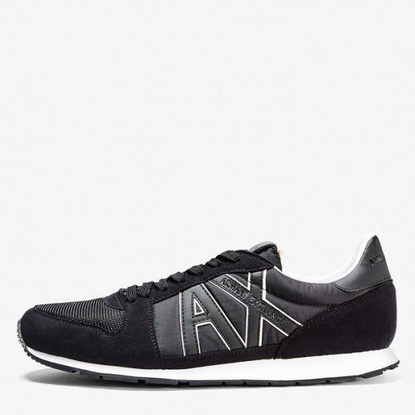 A/X アルマーニ エクスチェンジ シューズ ARMANI EXCHANGE カジュアル 靴 ax635 ブラック|5445|02
