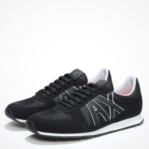 A/X アルマーニ エクスチェンジ シューズ ARMANI EXCHANGE カジュアル 靴 ax635 ブラック|5445|03