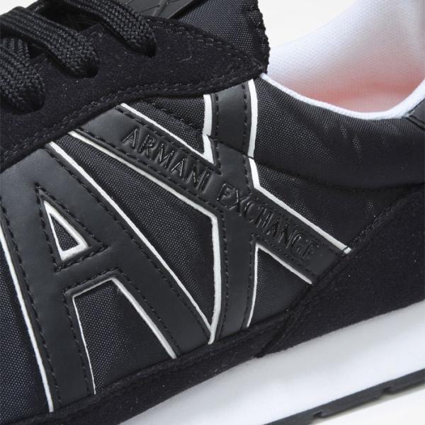 A/X アルマーニ エクスチェンジ シューズ ARMANI EXCHANGE カジュアル 靴 ax635 ブラック|5445|04