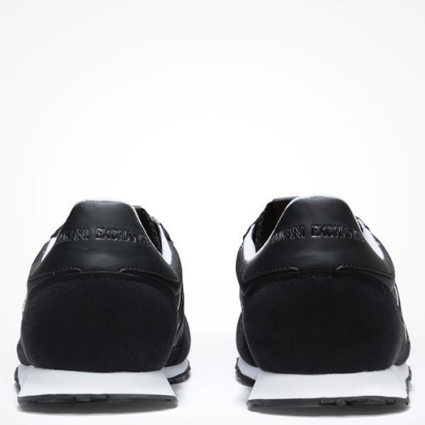 A/X アルマーニ エクスチェンジ シューズ ARMANI EXCHANGE カジュアル 靴 ax635 ブラック|5445|05