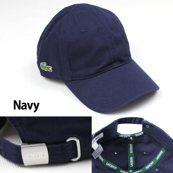 LACOSTE ラコステ キャップ 帽子 ワンポイント la20|5445|03