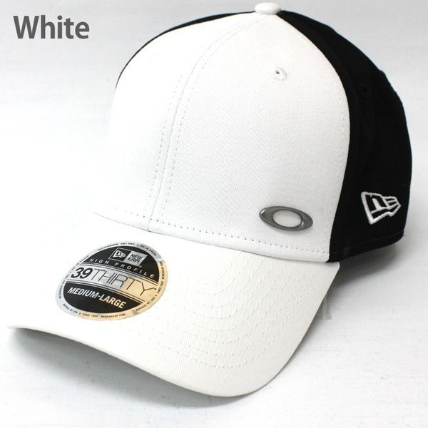 Oakley オークリー キャップ NEWERAモデル 帽子 ゴルフ oa235 ホワイト ブラック|5445|02