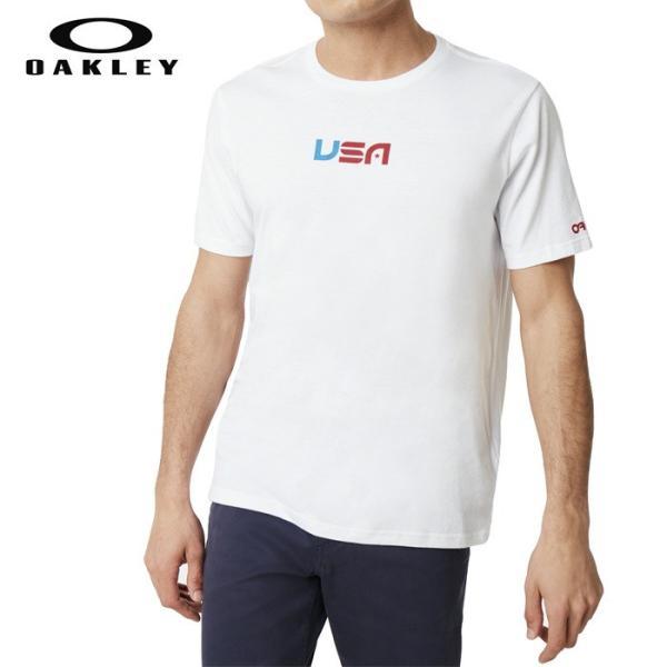 オークリー スポーツ Tシャツ 速乾 吸汗 OAKLEY 白 ホワイト oa260 XL USAサイズ 大きい|5445