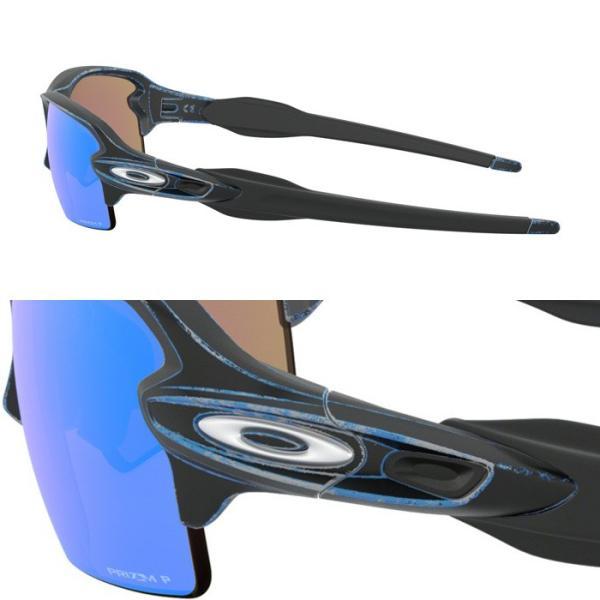 OAKLEY オークリー サングラス FLAK 2.0 Race Worn Collection アジアンフィット OO9271-3661 偏光サングラス UVカット oa271|5445|03