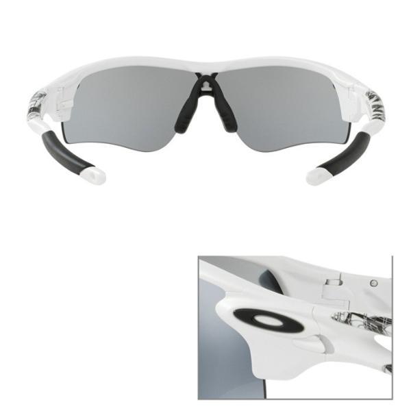 OAKLEY オークリー サングラス RADARLOCK PATH (Asian Fit) アジアンフィット OO9206-02 偏光レンズ UVカット Slate Iridium oa277|5445|03