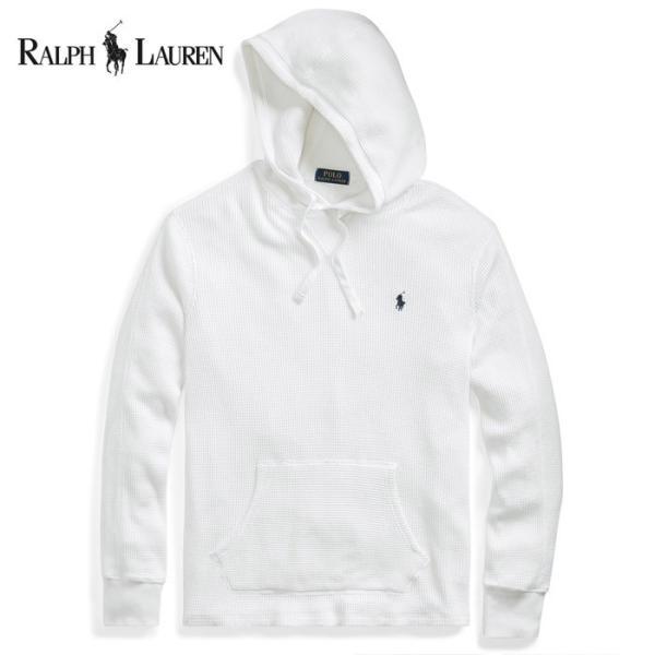 POLO Ralph Lauren ポロ ラルフローレン サーマル コットンパーカー  r486 ホワイト|5445