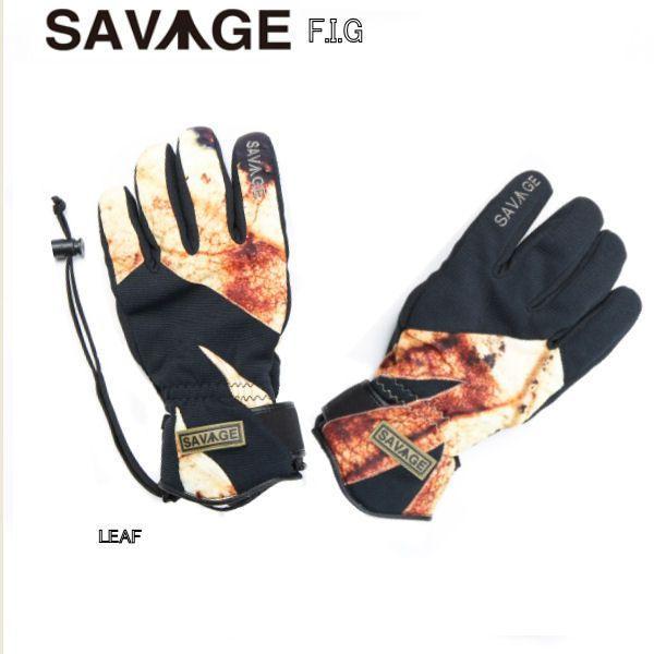 SAVAGE サベージ メンズ レディース スノーグローブ F.I.G 5本指 sav-f-i-g|54tide|02