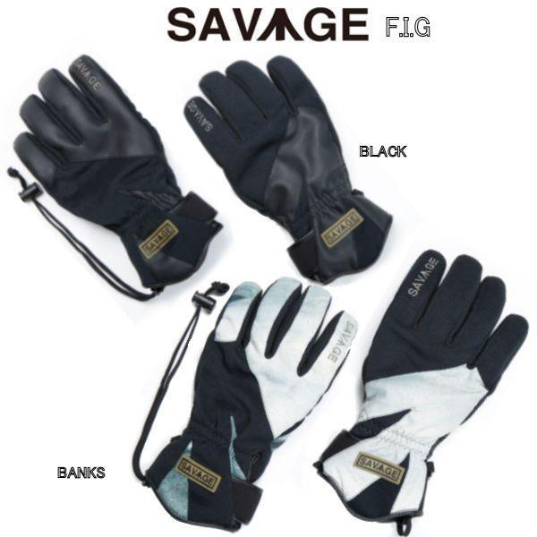 SAVAGE サベージ メンズ レディース スノーグローブ F.I.G 5本指 sav-f-i-g|54tide|03
