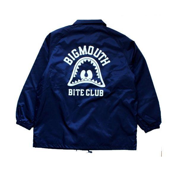 BIG MOUTH ビッグマウス BMBC COACH JACKET メンズコーチジャケット BITE CLUB ウインドブレーカー 定番アイテム 54tide 02
