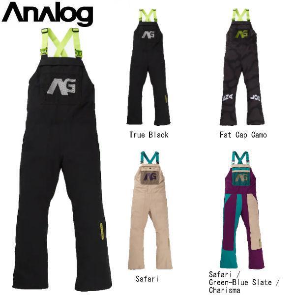 アナログ ANALOG ICE OUT BIB PANT メンズ レディース 男女兼用 スノーパンツ スノーウェア ビブパンツ つなぎ オーバーオール ボトムス スノーボード|54tide