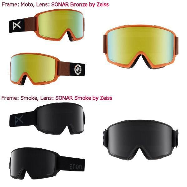 アノン ANON メンズ スノーゴーグル スノーボード アジアンフィット 9カラー Mens Anon M3 Goggle + Spare Lens 54tide 02