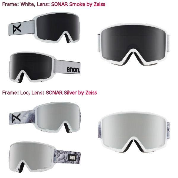 アノン ANON メンズ スノーゴーグル スノーボード アジアンフィット 9カラー Mens Anon M3 Goggle + Spare Lens 54tide 03