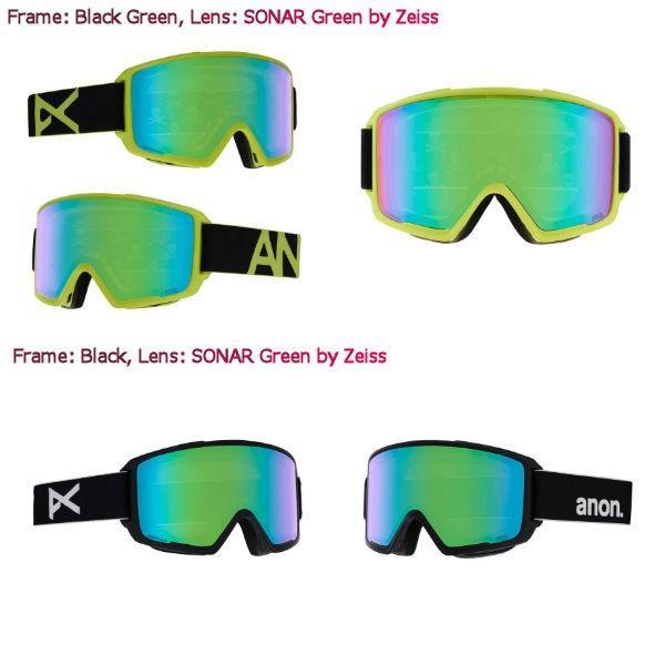 アノン ANON メンズ スノーゴーグル スノーボード アジアンフィット 9カラー Mens Anon M3 Goggle + Spare Lens 54tide 05