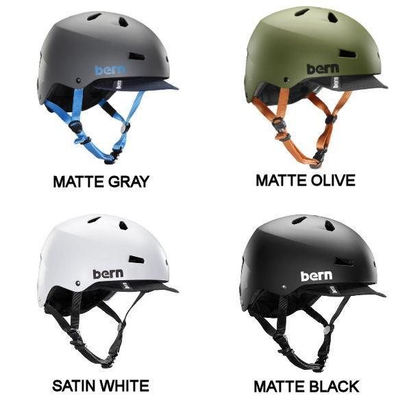 バーン BERN MACON VISOR メイコン バイザー メンズ ヘルメット プロテクター 耳あてなし スケート スノー 自転車|54tide|02